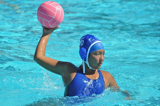 Christina on Los Altos High School Varsity Water Polo