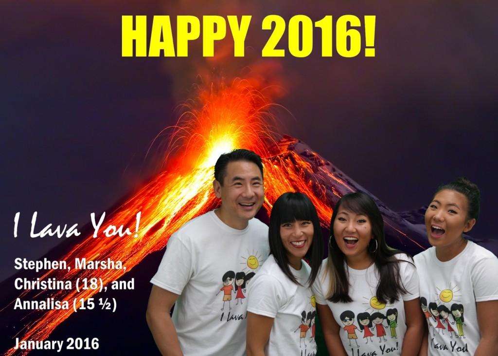 Pao Family and a Volcano