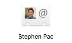 Stephen Pao vCard