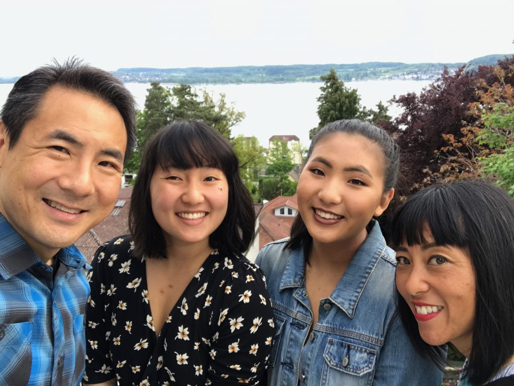 Pao Family on Christina's Last Day in Germany