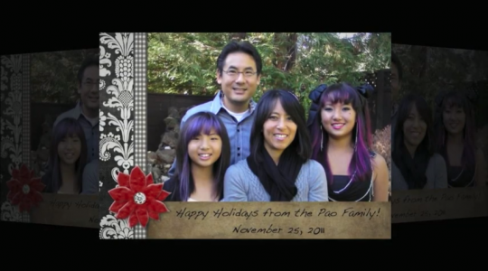 Seasons Greetings 2011 from the Pao Family